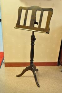 木製譜面台(ウォルナット)